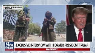 Trump slams Biden's 'humiliating' withdrawal from Afghanistan