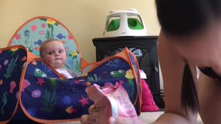 Daughter Hears What Sounds Like a Tasty Treat