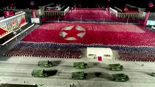 North Korea shows off new submarine missiles