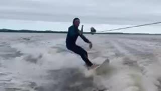 Good times wake surfing