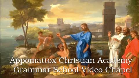 ACA Grammar School Video Chapel, Wednesday, March 10, 2021