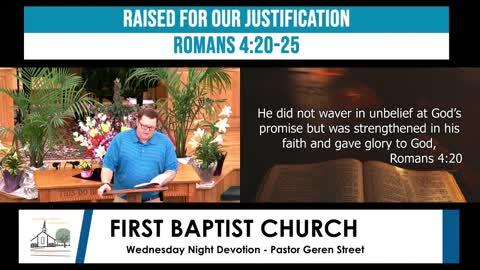 Wednesday Night Devotion - April 7, 2021