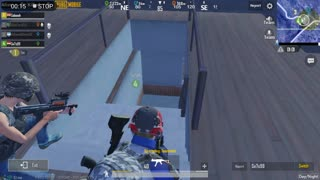 Pubg Mobile Game 2 People Fight Aganist 4 Inside House Last Min Match