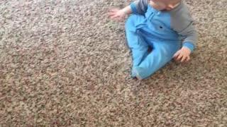 Break dancing baby
