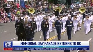 Memorial Day Parade Returns to DC