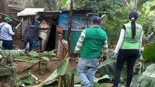 Destruidos cuatro cambuches en la comuna 17