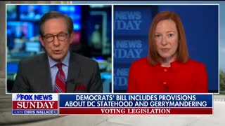 Psaki Left Speechless When Cornered About Biden's Past Comments On Filibuster