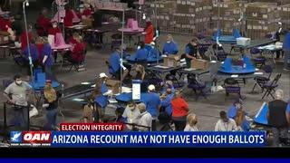 Ariz. recount may not have enough ballots