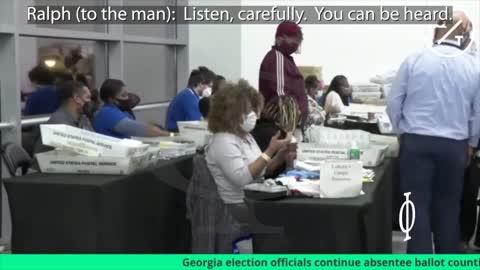 Frode elettorale nella contea di Fulton catturata in video
