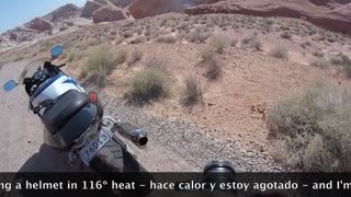Ride to Valley of Fire