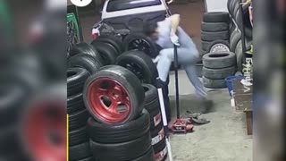 Funny road rage and road accident