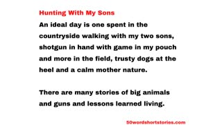 Hunting With My Sons