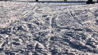 Jumping a Subaru on Ice at Charlie Lake