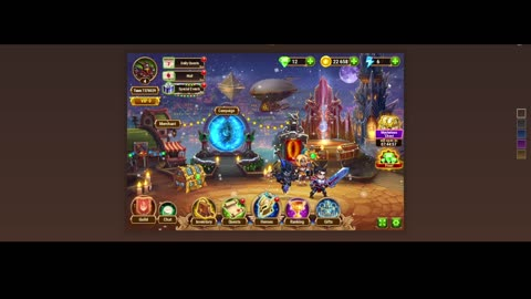 [GAMEPLAY] Hero Wars Web Equipament Chest Arena Quest