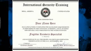 Fugitive Recovery   Bail Enforcement   Bounty Hunter   Online Training Course Certification