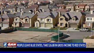 People leave blue states, take $26.8B in gross income to red states