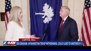 Sen. Graham: Afghanistan troop withdrawal could lead to another 9/11