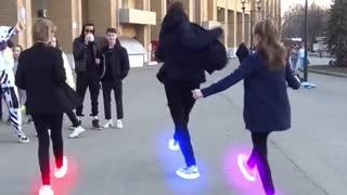 Nice group dancing