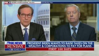 Lindsey Graham on Biden's first 100 days