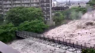 Japan rescue work continues after deadly landslides