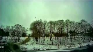 Timelapse - Maine Winter Storm - Snow/Ice/Rain