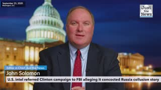 U.S. intel referred Clinton campaign to FBI, alleging it concocted Russia collusion story