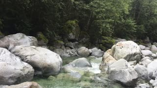 Mountain Stream Water Sounds comforting for Sleep, Relaxation Meditation 100% unedited nature