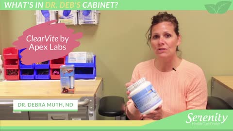 What's In Dr. Deb's Cabinet? Episode #1 | Turmero & ClearVite