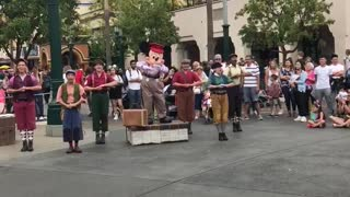 Mickey Mouse Dance Routine