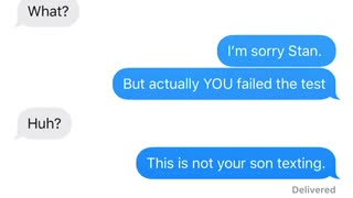 Dad Pulls Prank On Son (GOES WRONG)