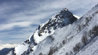 Mountains in to Sochi