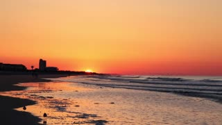 Sunset Beach Sunrise Time-lapse