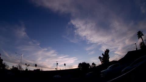 Time Lapse Las Vegas Sunset 1-27-20