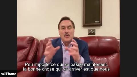 Interview Mike Lindell [partie 1 VOSTFR]