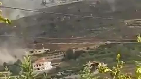 Videos from the aftermath of Explosion in Ain Qana southern Lebanon