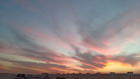 Look at the sky of Egypt, a view of its magnificence seriously, Glory be to God