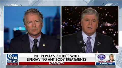 Dr. Rand Paul Joins Sean Hannity to Discuss Monoclonal Antibodies - September 17, 2021