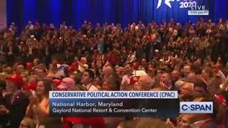 Trump imitates Bloomberg at CPAC 2020