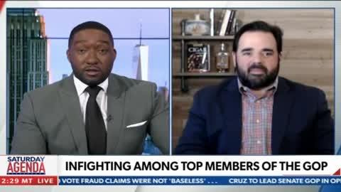 On Newsmax TV: GOP Infighting Leading Up To The Georgia Senate Runoff
