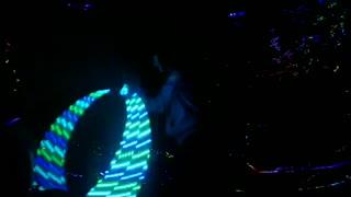 Beautiful light dance