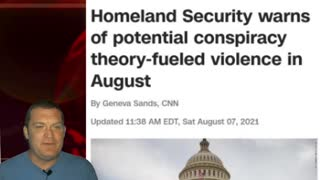 DHS Warns Threat of Violence from Trump Consiracy Theory
