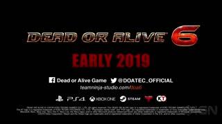 Dead or Alive 6 Reveal Trailer - E3 2018