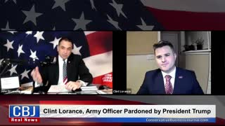Clint Lorance, Army Officer Pardoned by Trump, on the Conservative Business Journal Podcast Show