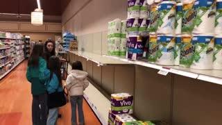Panic of buying toilet paper hits upstate New York
