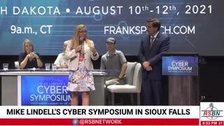 Senator Amanda Chase (VA) at the Cyber Symposium in SD
