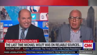 CNN's Brian Stelter Sits Quiet As His Own Guest SCHOOLS Him ...!!