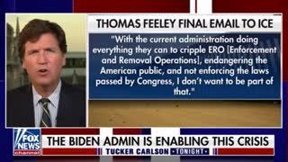 Tucker - Aug 03, 2021 - ICE Whistleblower Thomas Feeley