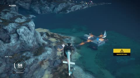 Just Cause 3 Demo Gameplay part 23 Rico is On The Way To The Mission conflicting interests