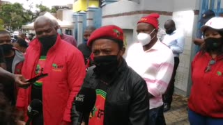 EFF Lays Charges Against the Minister of Police Bheki Cele