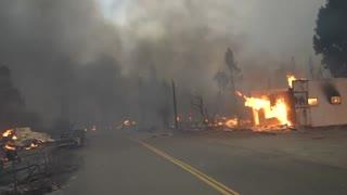 1 of 2 Huge Wildfires In California